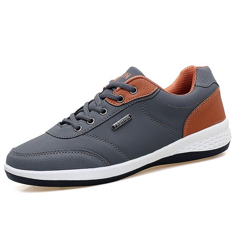 Men's Winter Sneakers PU Leather 1