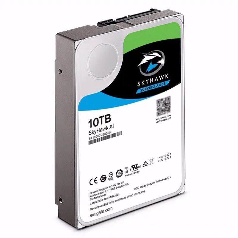 """New HDD For Seagate 10TB 3.5"""" SATA 6 Gb/s 256MB 7200RPM For Internal Hard Drive For Surveillance HDD For ST10000VE0008 3"""