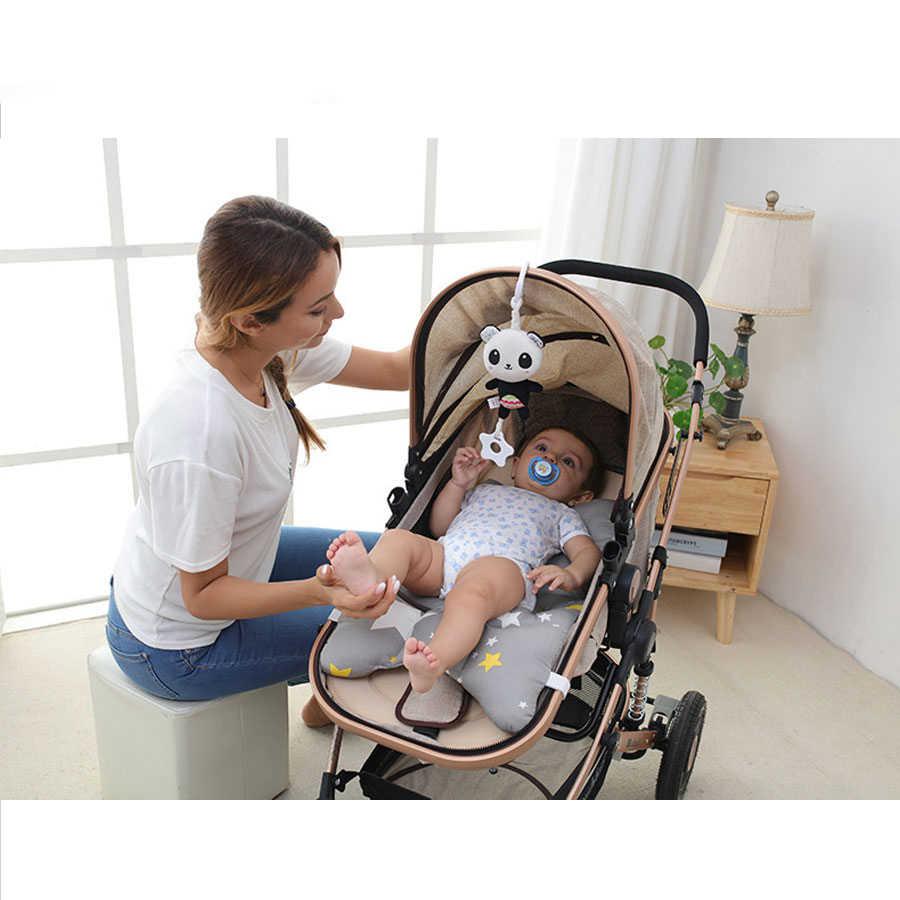 1pc novo bebê nascido brinquedos chocalho de pelúcia sino cama infantil carrinho pendurado sino chocalho brinquedos educativos estilos brinquedos macios presente