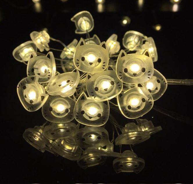 1.5M 10 Led LED Animal Shape String Light Party Decoration Lights Holiday Battery Box