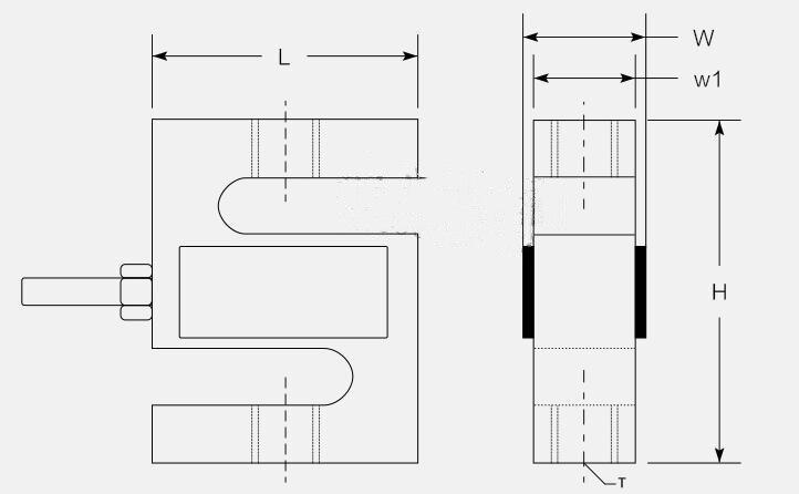resistência de corrosão da elevada precisão 1500 kg ip67 10 v para funis silos