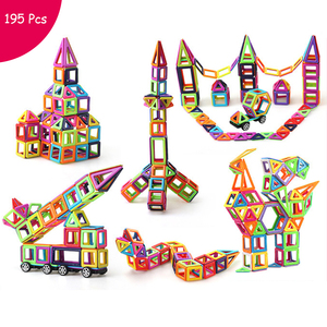 195pcs Blocks Magnetic Designe