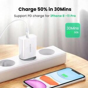 """Image 4 - Ugreen פ""""ד מטען 30W USB סוג C מהיר מטען עבור iPhone 12 X Xs 8 Macbook טלפון QC3.0 USB C טעינה מהירה 4.0 3.0 QC פ""""ד מטען"""