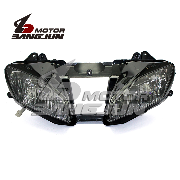 Motorcycle Black Headlight Headlamp Head Lights Lamps Assembly For Yamaha YZF600 R6 2008 2009 10 11 12 13 14 2015