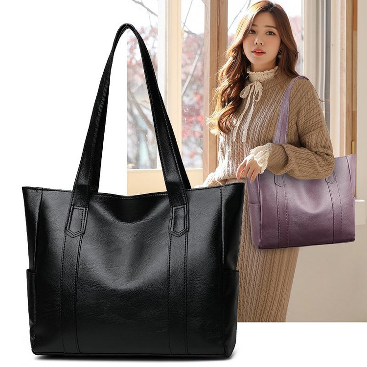 Sac à Main en cuir PU de grande capacité pour femmes, sacs à bandoulière décontractés de bonne qualité, fourre-tout pour dames, offre spéciale