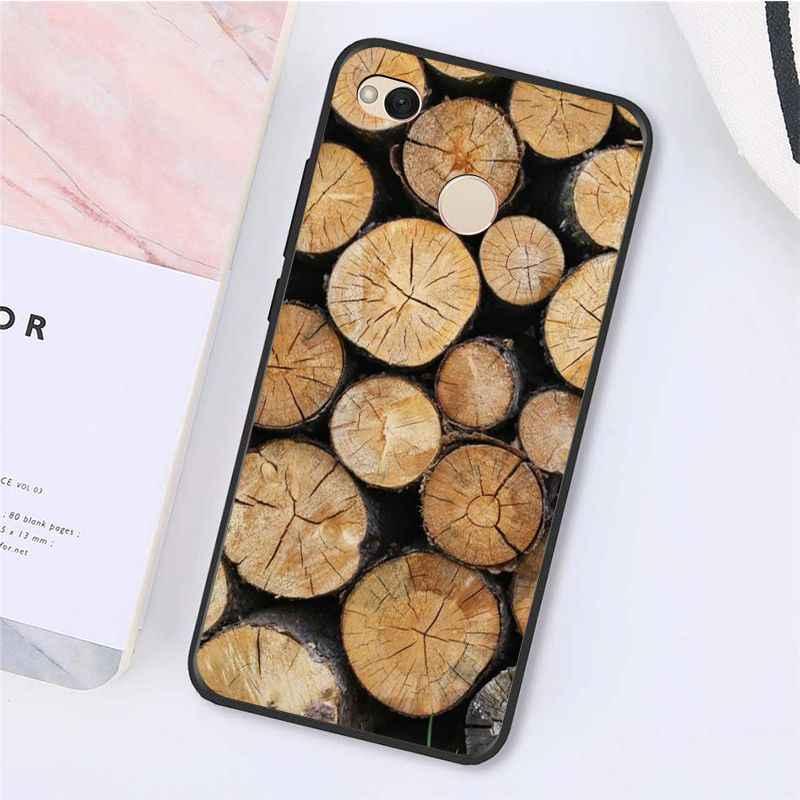 Yinuoda Pola Kayu Tekstur Fox Dandelion Mandala Phonecase untuk Xiaomi MI5 6 A1 A2 Lite Mi9 9SE Mi8lite F1 Mix2 2S Max2 3