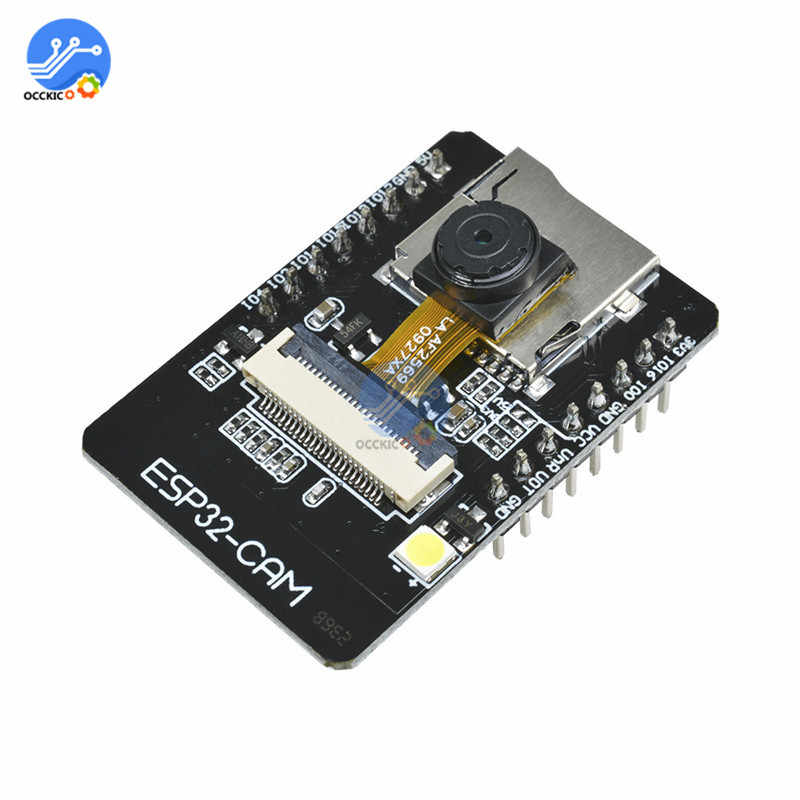OV2640 ESP32-CAM WIFI Bluetooth Module + FT232RL FTDI USB à TTL convertisseur série + 40 broches cavalier fil pour la maison intelligente intelligente