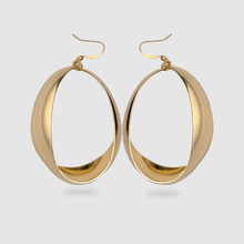 Amorita boutique Fashion Metal ring design earrings
