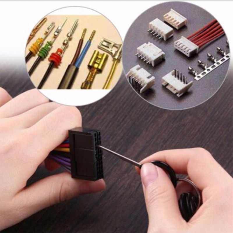 29Pcs Car Terminals Removal Key Tools Set Wire connector Pin Release Extractor Puller Car Accessories in Stylus from Automobiles Motorcycles