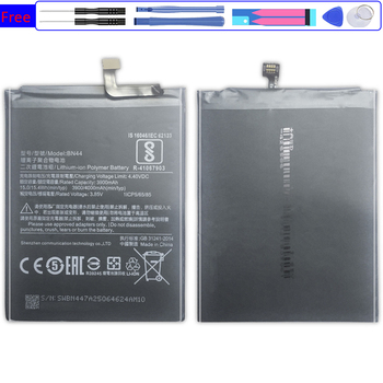 Battery for Xiaomi Xiao mi Pocophone F1 Max Mix 1 2 3 A2 A3 Redmi 5 Plus 5A 5S 5C 5X 6 6A 6X 7 8 Lite SE 9 9T Pro 5Plus BN44 image