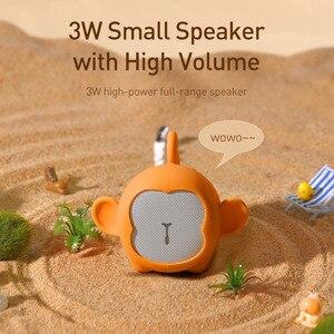 Image 2 - Baseus bluetoothスピーカーポータブル防水ミニスピーカー用より良い 3 ワット低音カラフルな動物モデルステレオサウンド