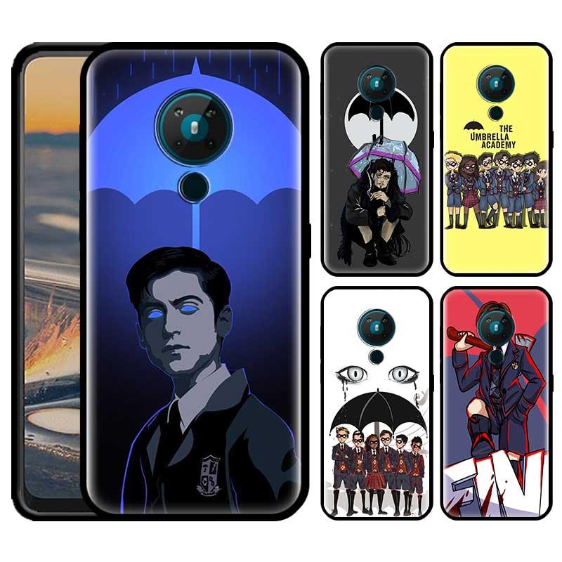 Umbrella Academy Phone Case For Nokia 5.4 1.4 7.2 5.3 2.3 3.4 3.2 4.2 2.4 8.3 5G TPU Phone Cover