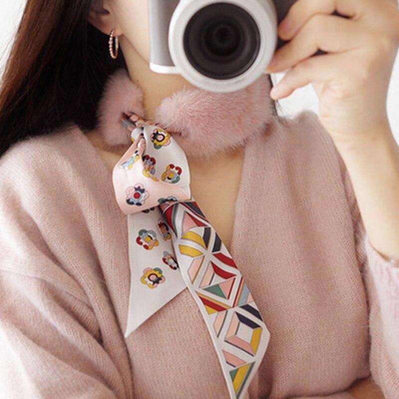 Véritable fourrure de vison véritable foulard en soie en peluche col plus chaud doux hiver châle enveloppement femmes fille enfants silencieux cadeau de noël
