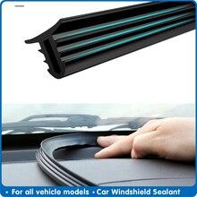 لوح ختم الزجاج الأمامي للسيارة ، شريط مطاطي عالمي 160 سنتيمتر ، عازل للصوت