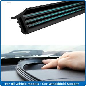 Image 1 - 160 センチメートルユニバーサル密閉フロントガラスシールボード防音自動車ゴムストリップインストルメントパネルシールストリップ