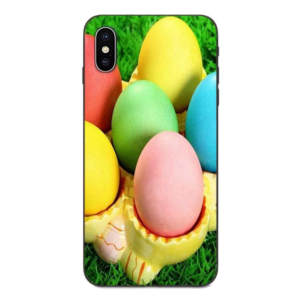 Soft Coque สำหรับ Galaxy A10S A20S A2 Core A30S A40S A50S A70S A90 5G M10 M30S M40 หมายเหตุ 10 Plus Hot Happy Easter Bunn กระต่าย