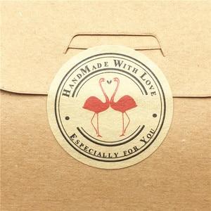 Image 5 - 100 sztuk/partia multi style naklejki etykiety 3cm etykieta uszczelniająca naklejki do pieczenia ciasta/handmade prezent/żywności/pakowania prezent plomby do etykiet