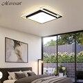 Современные потолочные светильники  потолочный светильник  черный белый абажур  высокое качество  потолочный светильник для гостиной  спал...