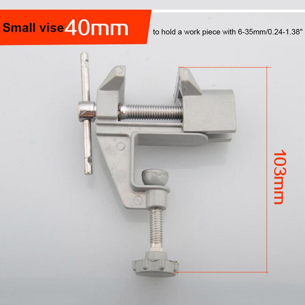 Morsa da banco universale Mini tavolo in lega di alluminio Morsa da - Macchine utensili e accessori - Fotografia 6