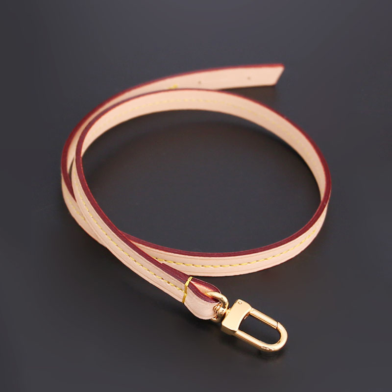 BAMADER 38.5cm Detachable Bag Handle Replacement Bag Strap Genuine Leather Shoulder Strap Bag Part & Accessories Fashion Strap