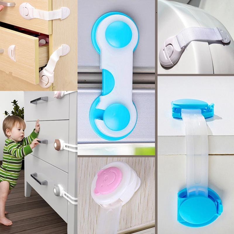 Baby Safety Lock Drawer Door Toilet Cabinet Cupboard Window Fridge Safety Locks Baby Protection Child