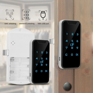 Image 4 - חדש בית חכם דיגיטלי RFID סיסמא מנעול קשר לוח מקשים אלקטרוני קבינט נעילת משרד חכם מנעול