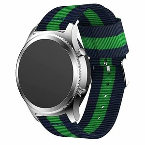 Image 4 - Nylon Strap for Samsung Galaxy Watch Active 42/46mm Gear S3 20/22mm Sport Watchband for Huami Amazfit Huawei Watch 2 gt Ticwatch