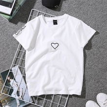 New T-shirts Women 2020 Vogue Vintage Tshirts Cotton Women O Neck Short Sleeve Best Friends Lady Girl Funny Hipster