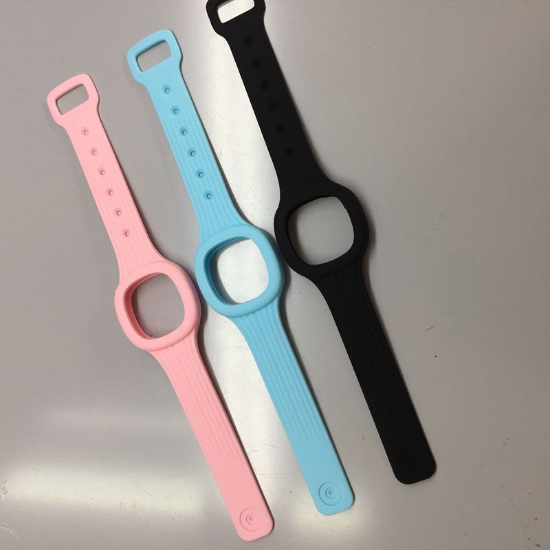 Watch Accessories Silicone Watch Strap Watch Bezel Activity Ring Watch Buckle Circle One-piece Square Anti-mosquito Belt Non-Fin
