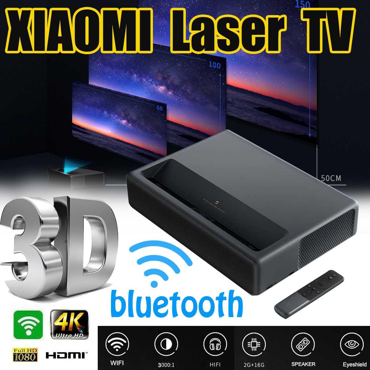 Xiaomi Mijia mjgtyds01fm 2GB 16GB MIUI TV Laser HDR TV 4K bluetooth WiFi 3D système de cinéma maison Version chinoise