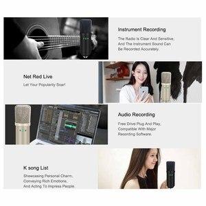 Image 5 - USB Microfono A Condensatore Kit Karaoke Microfono da Studio Mic per il Telefono Trasmissione In Diretta On Line Chat Registrazione