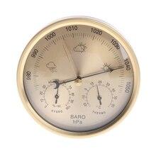 5 Inches Barometer Thermometer Hygrometer Wandmontage Huishoudelijke Weerstation 77UC Groothandel Dropshipping