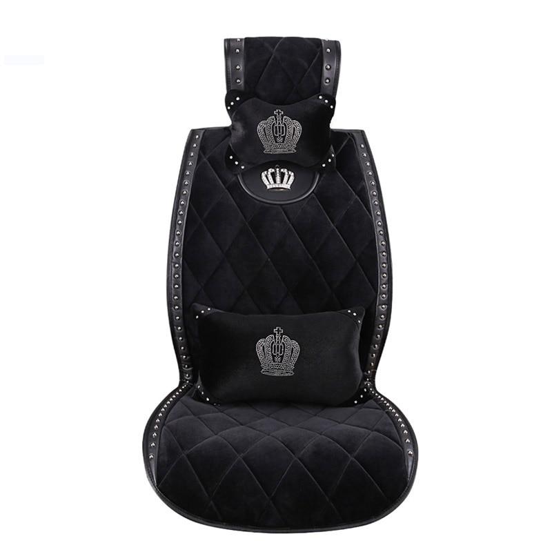 Luxury-Crystal-Diamond-Swan-Car-Seat-Cover-Winter-Plush-Universal-Auto-Seat-Cushion-Interior-4