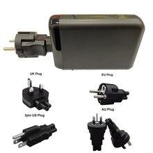 Urvns conversão plug adaptador base suporte carregador suporte para 150w carregador gan, (para não incluir o carregador)