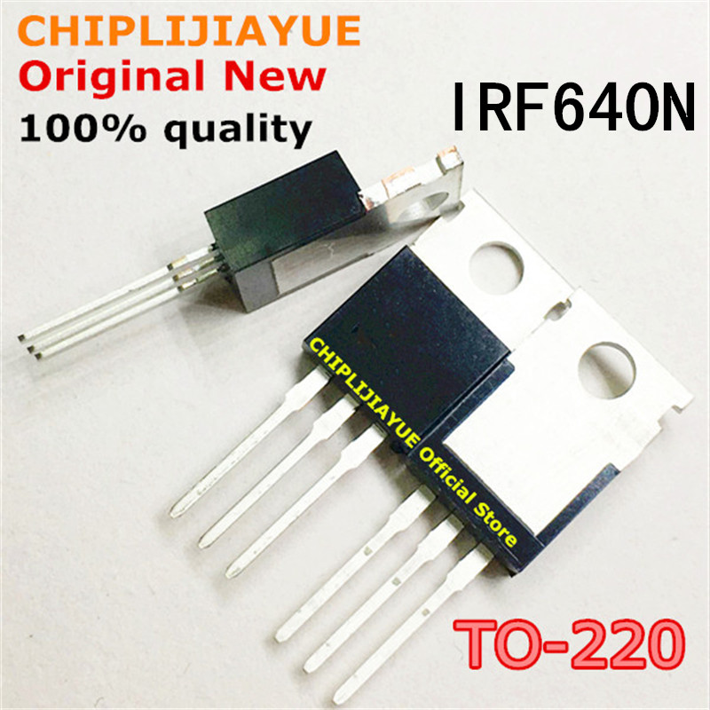 10PCS IRF640N TO220 640 IRF640NPBF IRF640 TO-220 new and original IC Chipset