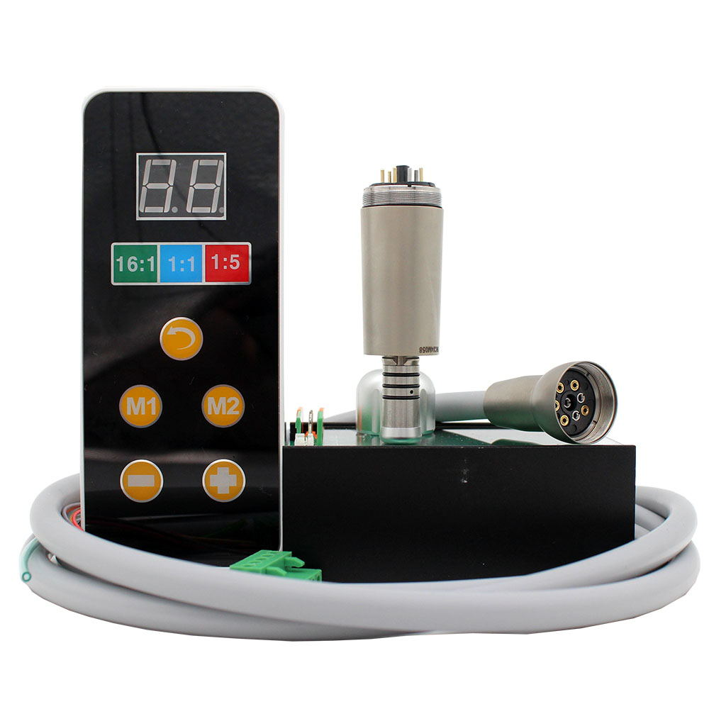 Built-in Electric Motor LED E-type Handpiece Style Micromotor Connect With Dental Chair Unit