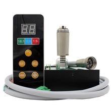 붙박이 전기 모터 LED E 유형 handpiece 작풍 micromotor는 치과 의자 단위와 연결한다