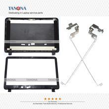 מקורי חדש עבור HP 250 255 G3 15 G 15 R 15 H 15Z G LCD כיסוי אחורי כיסוי למעלה מקרה + לוח קדמי + צירים 749641 001 AP14D000200
