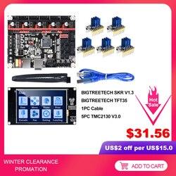 Bigtreetech SKR V1.3 Smoothieboard 32Bit TFT35 V2.0 Bltouch TMC2130 SPI TMC2208 UART 3D Máy In Phần VS MKS Gen L TMC2209