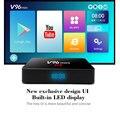 V96mini ящик для andorid Android 7 1 Смарт ТВ коробка Allwinner H3 2 Гб Оперативная память 16 Гб H.265 2 4G Wi-Fi YouTube Декодер каналов кабельного телевидения медиаплее...