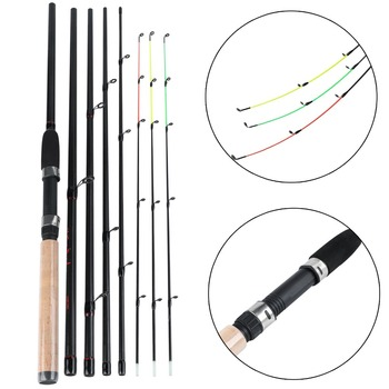 цены Sougayilang L M H Power Fishing Rod 99% Carbon Feeder Rod 3m Length 6 Sections Lure Fishing Stick Fishing Tackle De Pesca