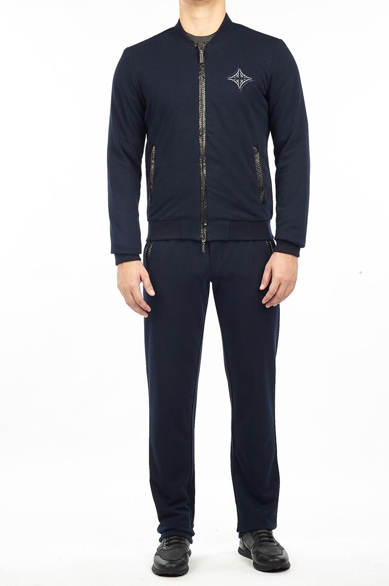 BILLIONAIRE Sportswear Snake Skin Set Men 2019 New Fashion Casual Cotton High Quality Outdoor Big Size M-4XL Free Shipping