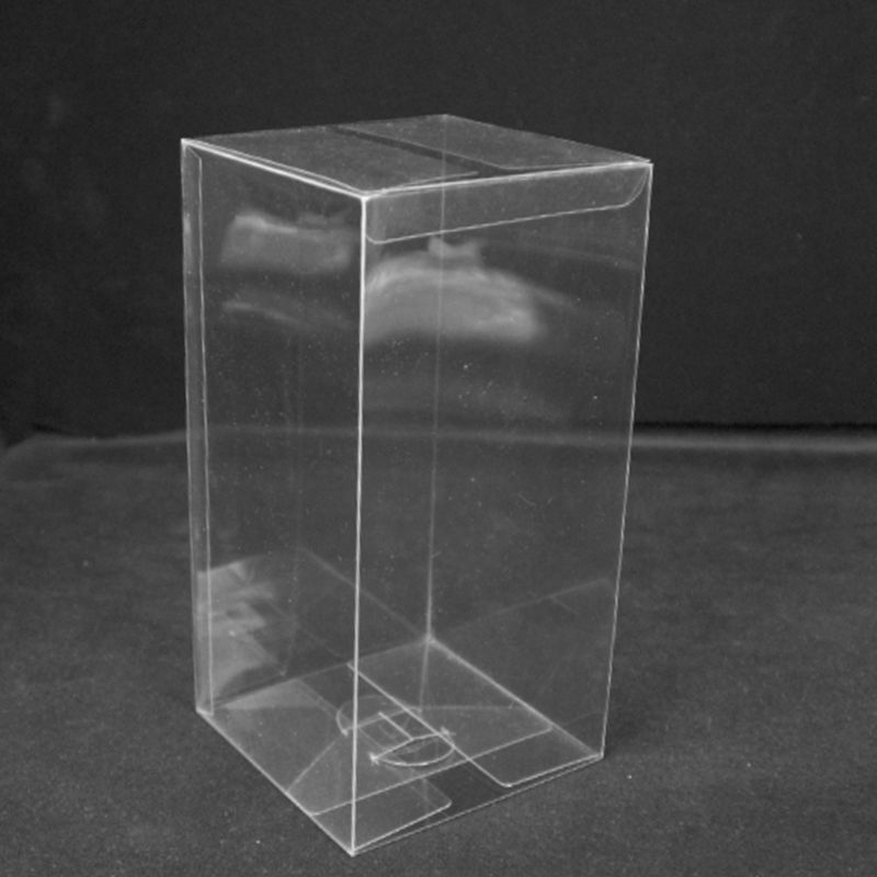 20 Pcs PVC Clear 1: 64 Model Car Toy Display Box Dustproof Exhibition Holder