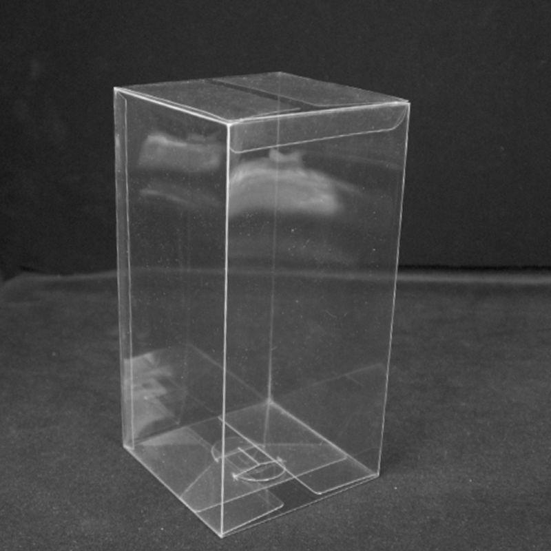 20 Pcs PVC Clear 1: 64 Model Car Toy Display Box Dustproof Exhibition Holder
