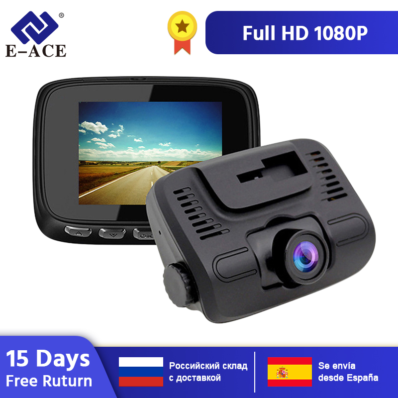 E-ACE Auto Dvr 2,0 Zoll mini Dash Cam FHD 1080P Auto Kamera Video Recorder Auto Kanzler Dashcam