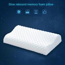 Pillow Ergonomic-Bed Memory-Foam Pain-Relief Sleeping-Neck for D1 Slow-Rebound