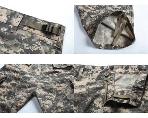 Image 5 - メンズ戦闘軍事戦術的なズボンマルチポケットカジュアル作業耐久性のある貨物パンツ