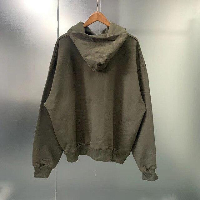3D Schaum Druck ye muss Geboren werden wieder Hoodies Männer Frauen 11 Kanye West Pullover Hoody Hip Hop Lose CPFM kid Cudi Sweatshirts