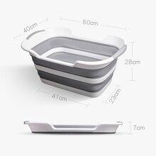 Folding Pet Bath Tubs Portable Non-slip Bottom
