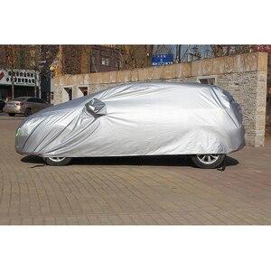 Image 4 - Full Car Cover Car Accessories With Side Door Open Design Waterproof For Hyundai HB20 Solaris Tucson IX25 IX35 ENCINO ELANTRA